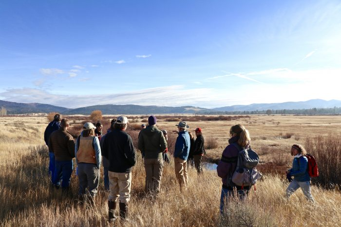 Participants of the Riparian Restoration in Western Montana - Role of Beavers Workshop
